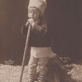 Carte poștală Prințul Nicolae