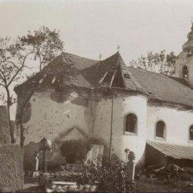 Biserica bombardată