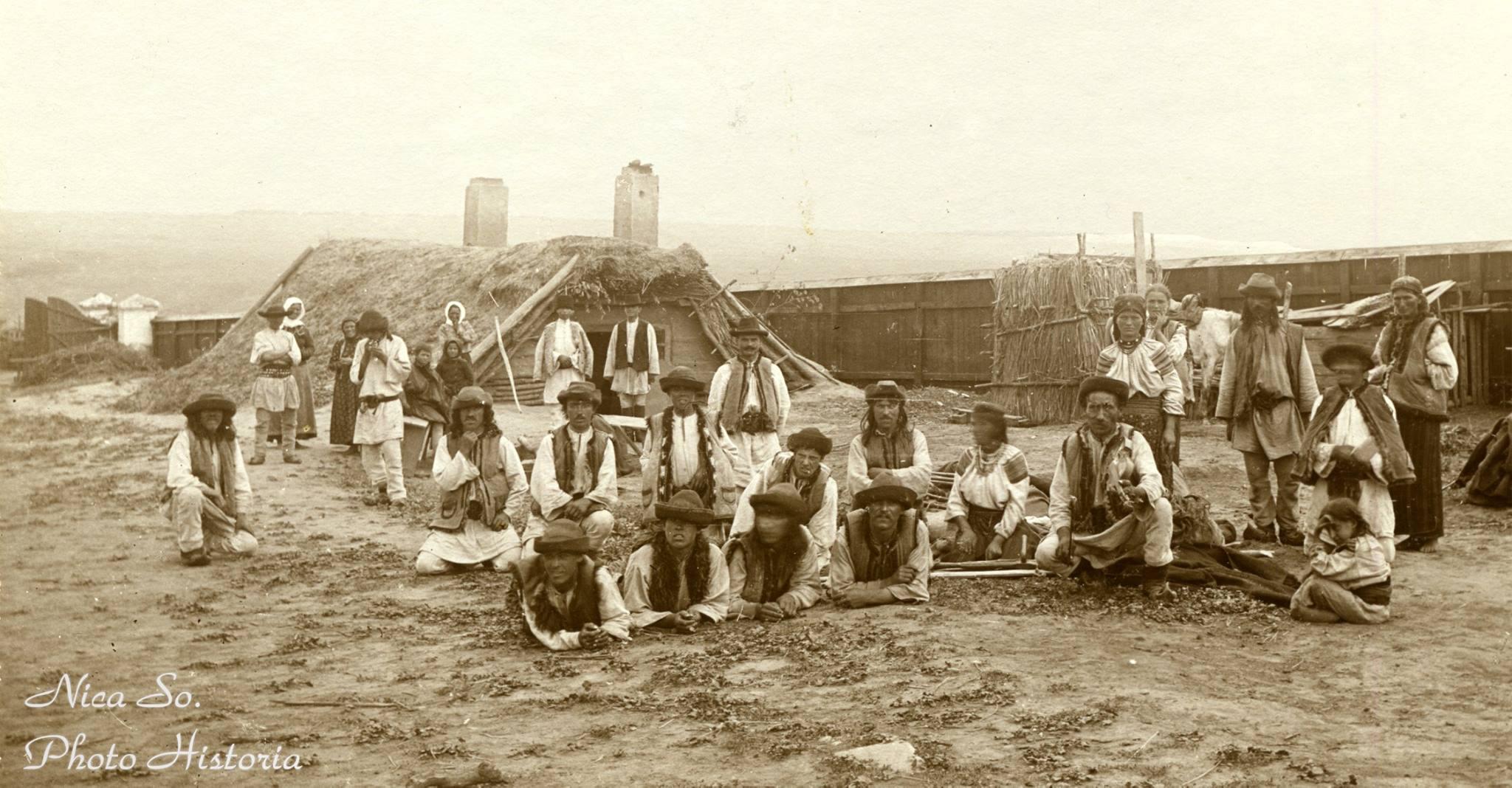 Grup de ţărani români