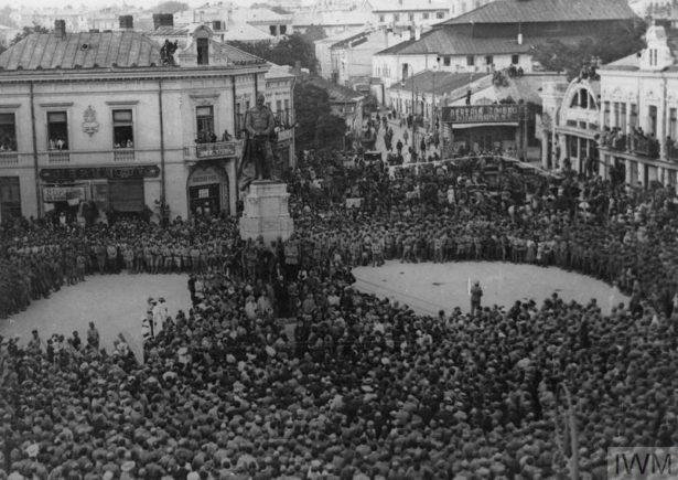 Ziarul Acțiunea Română, iunie 1917.