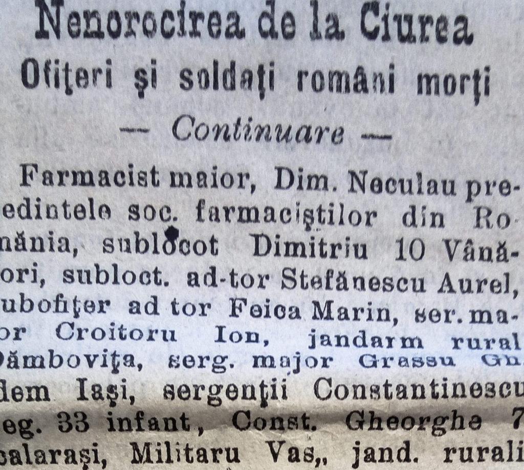 """I.G. Duca, """"Memorii de război (1916-1918), Vol.2"""", București: Ed. Machiavelli, 2015"""