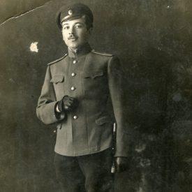Portretul unui tânăr în uniformă