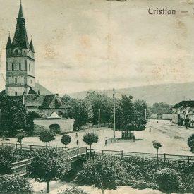 Vedere spre biserică